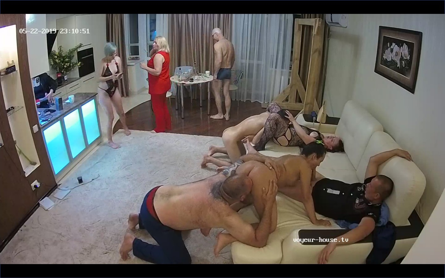 Ruta Christian and guests evening orgy,May 22