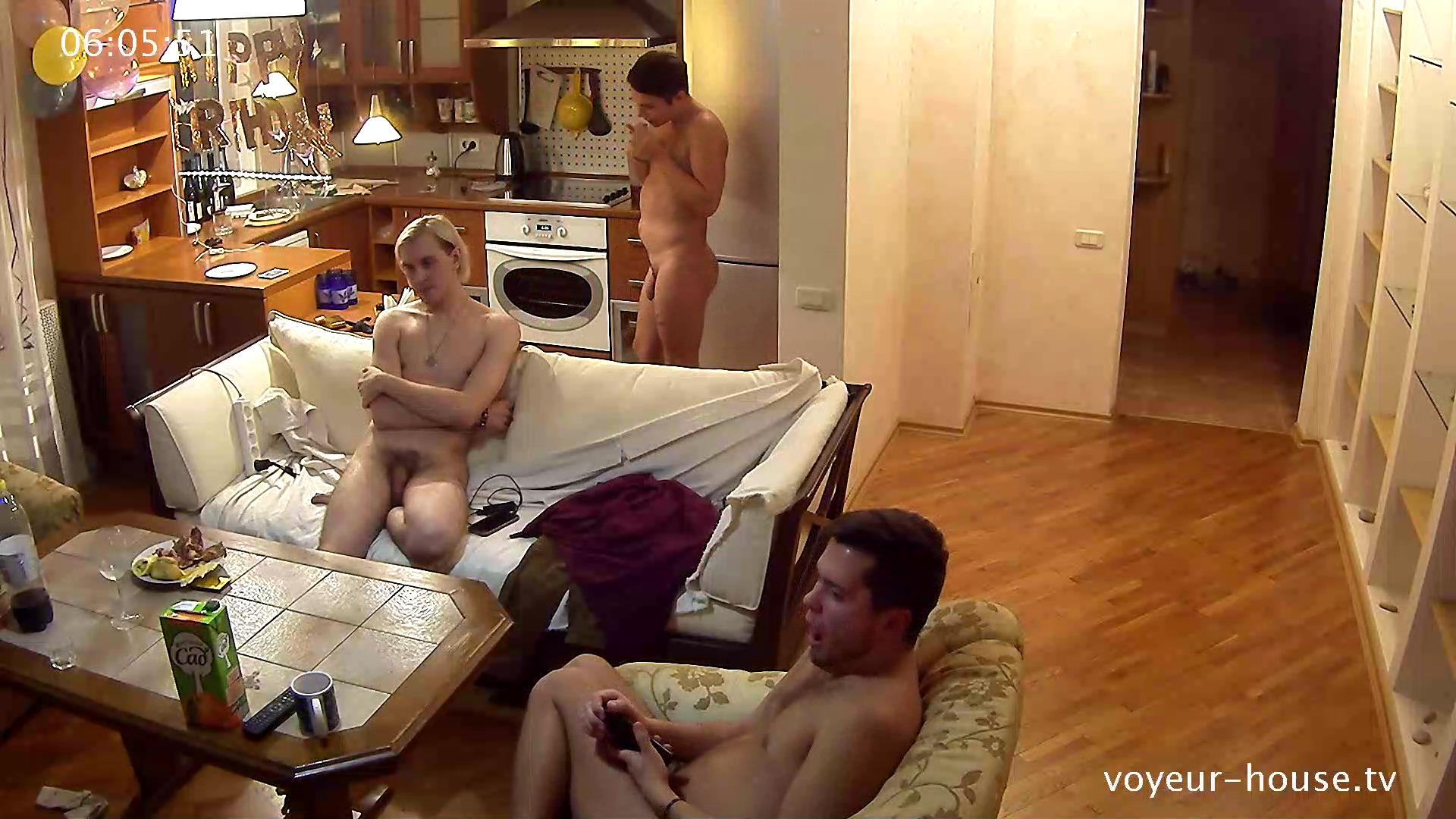 Watch Naked People Todd Chad Guest Naked In Livingroom 2Nd Nov 2017  Naked People With Leeloo -5822