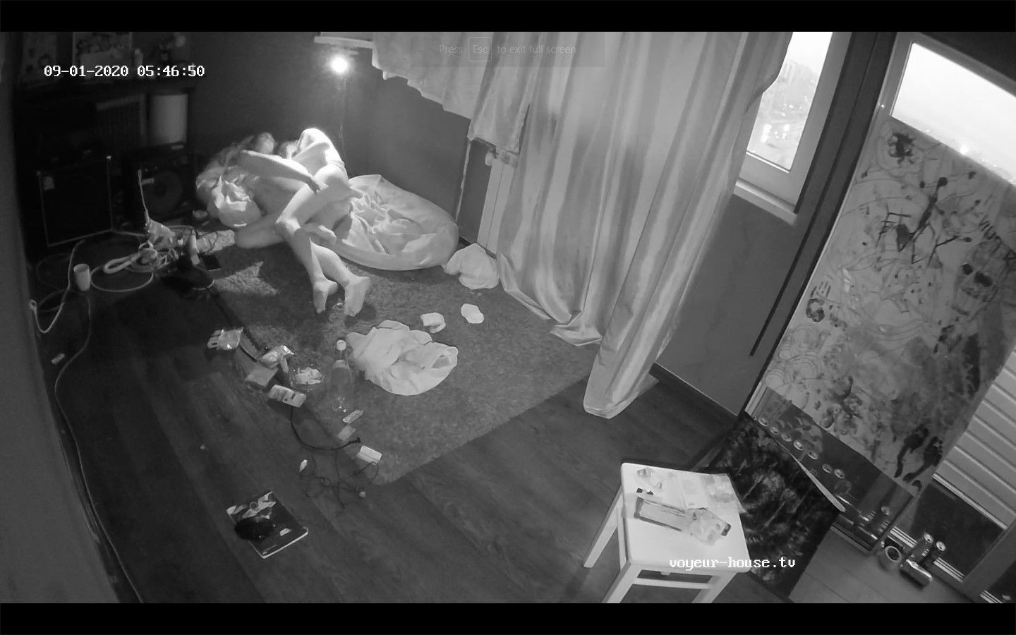 Guests morning sex,Sep 1